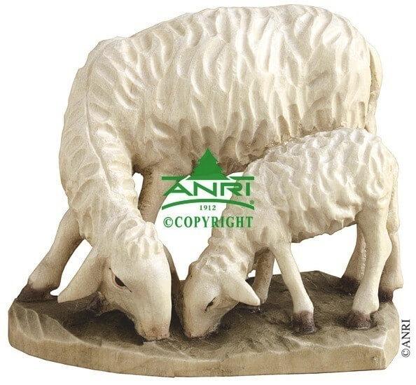 Ulrich Bernardi Krippe - Schaf mit Lamm