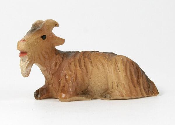 Ruco-Krippe - Ziege liegend