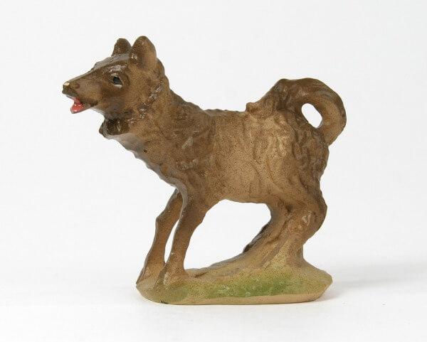 Künstler-Krippe - Hund