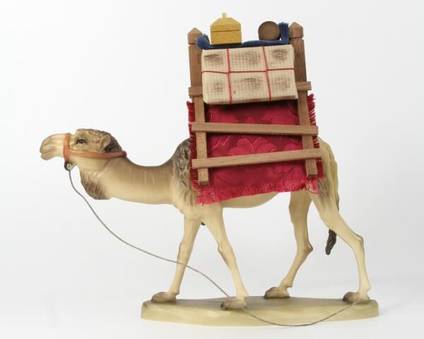 Karl-Kuolt-Krippe - Dromedar mit Gepäck