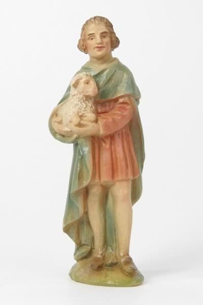 Dürer-Krippe - Hirt mit Schaf
