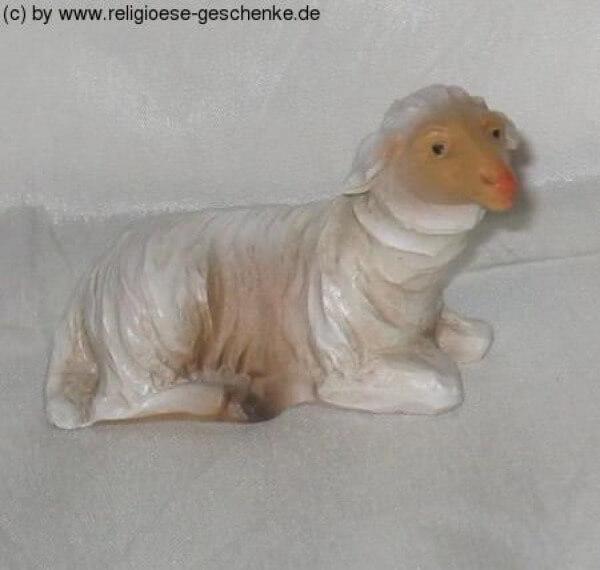 Carolus-Krippe - Schaf liegend