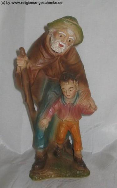 Carolus-Krippe - Hirt mit Kind
