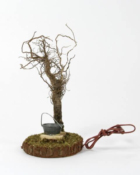 Krippenzubehör - Lagerfeuer & Baum