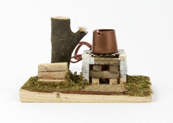 Krippenzubehör - Kochstelle & Topf