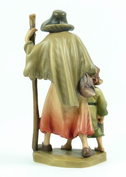 Ulrich Bernardi Krippe - Hirte mit Kind