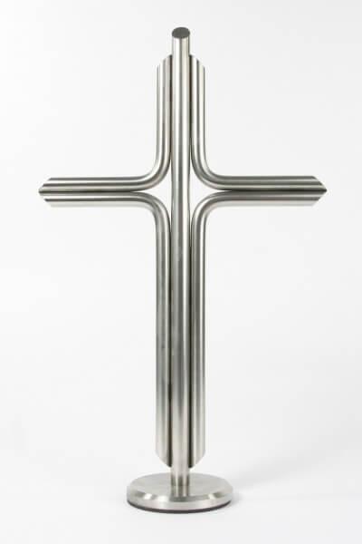 Stehkreuz - Edelstahl & Modern