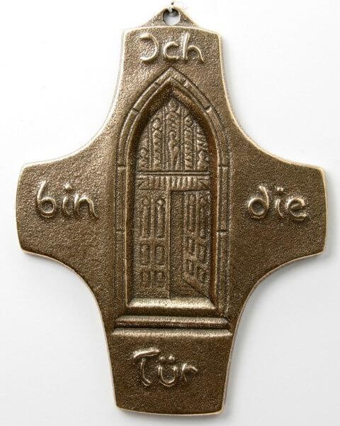 Kommunionkreuz - Ich bin die Tür