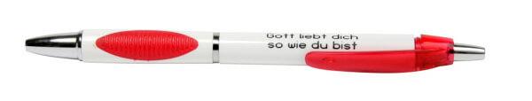 Kugelschreiber - Gott liebt dich so wie du bist