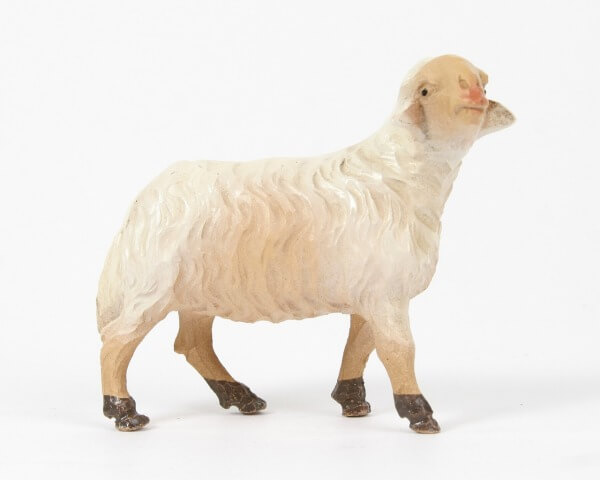 Ruco-Krippe - Schaf stehend rechts