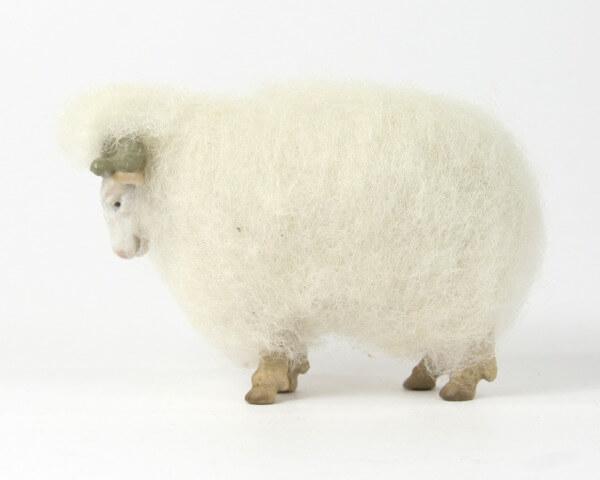 Ruco-Krippe - Wollschaf Widder