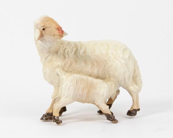 Ruco-Krippe - Schaf mit Lamm