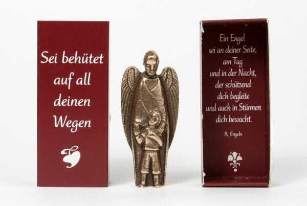 Bronzefigur - Engel an deiner Seite
