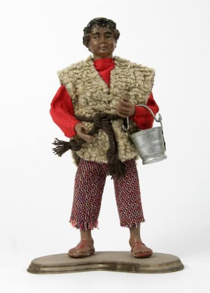 Ruco-Krippe - Junge Mohr stehend