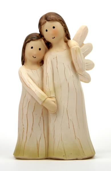 Engelfigur - Stehend mit Kind
