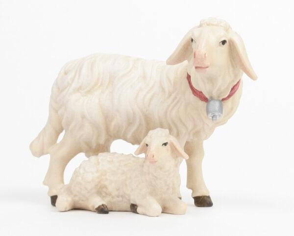 Kostner-Krippe - Schafgruppe