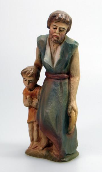 Bethlehem-Krippe - Hirt mit Kind