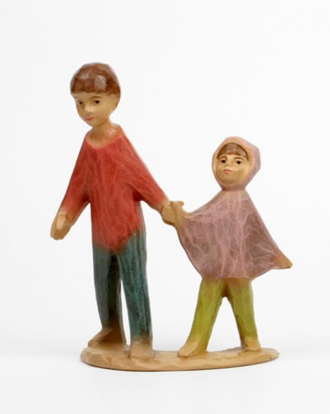 Gelenberg-Krippe - Kinderpaar - 18 cm