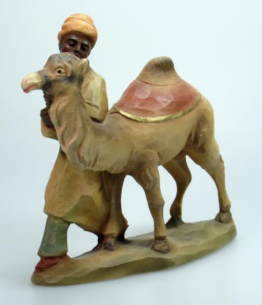 Bethlehem-Krippe - Kamel mit Treiber