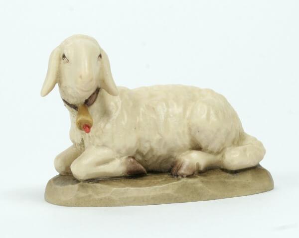 Karl-Kuolt-Krippe - Schaf liegend links