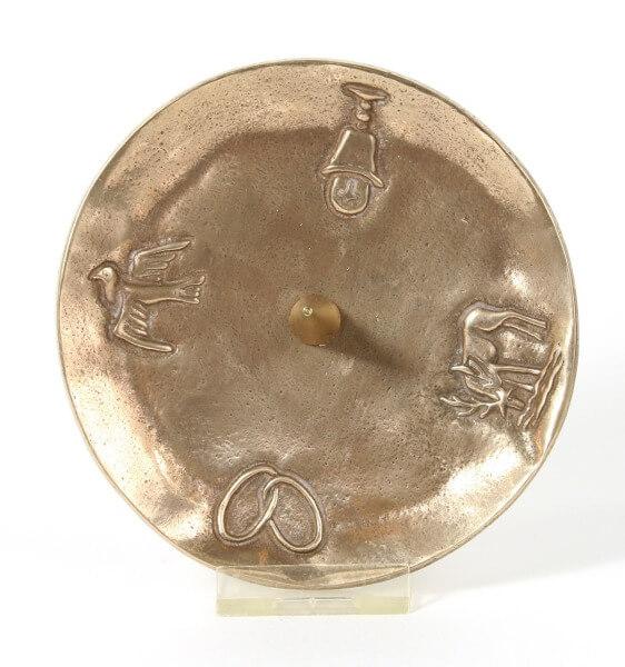 Bronzeleuchter - 4 Sakramente