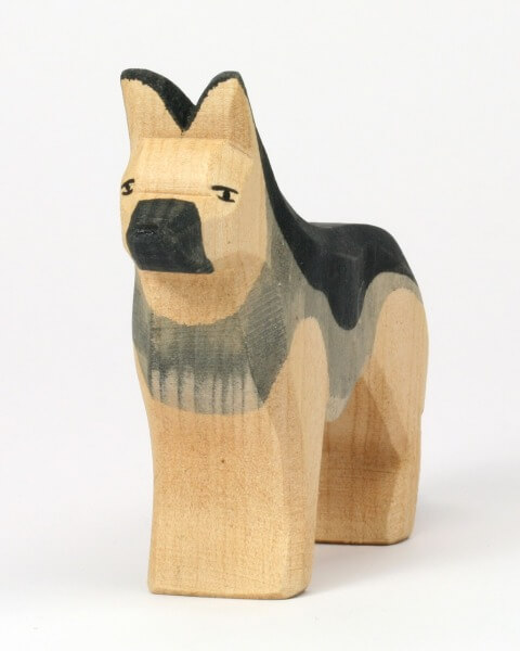 Ostheimer Krippe - Schäferhund stehend