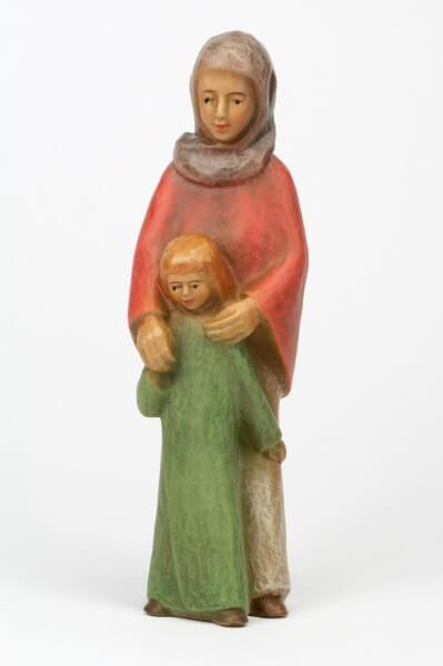 Gelenberg-Krippe 18 cm - Hirtin m . Kind - 18 cm