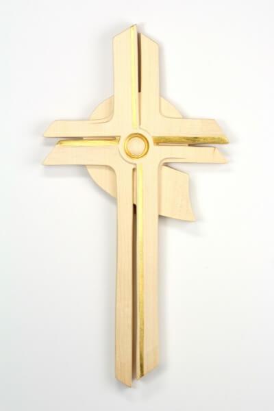 Holzkreuz - Auferstehung & Modern