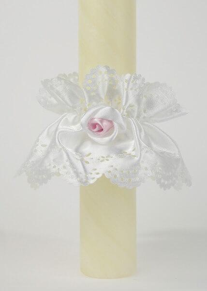 Kerzentülle - Rose