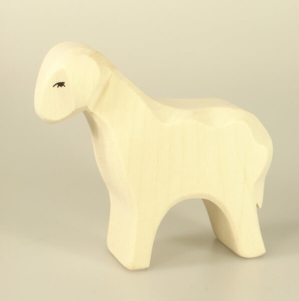 Ostheimer Krippe - Schaf stehend