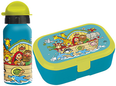 Arche Noah Set - Lunch-Box & Trinkflasche