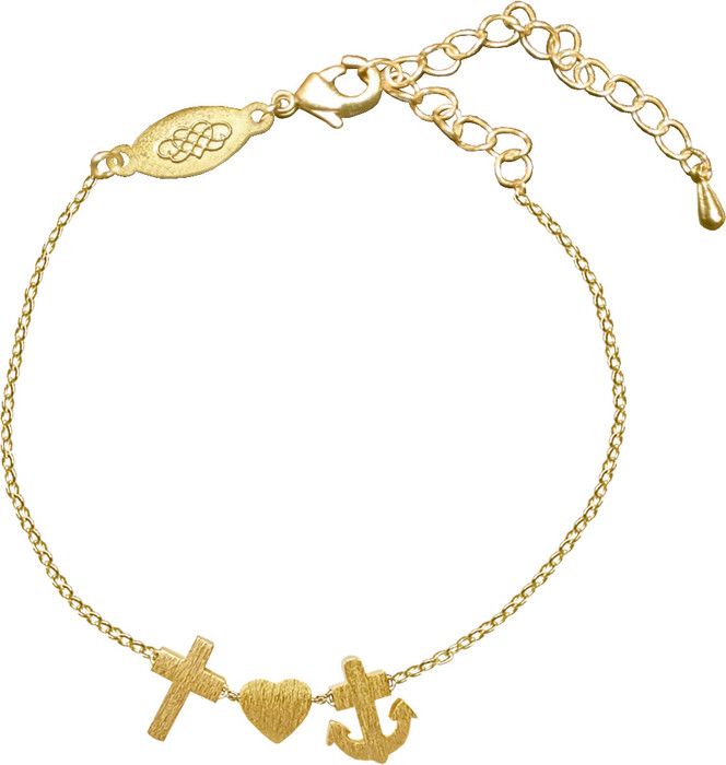 Armband - Glaube-Liebe-Hoffnung