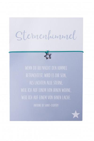 Armband Stern - Sternenhimmel