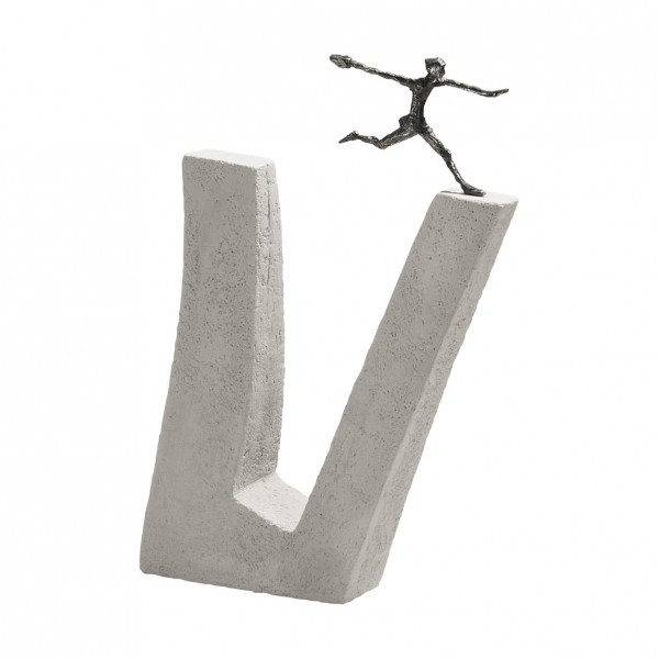 Skulptur - Wer nicht wagt & Bronze