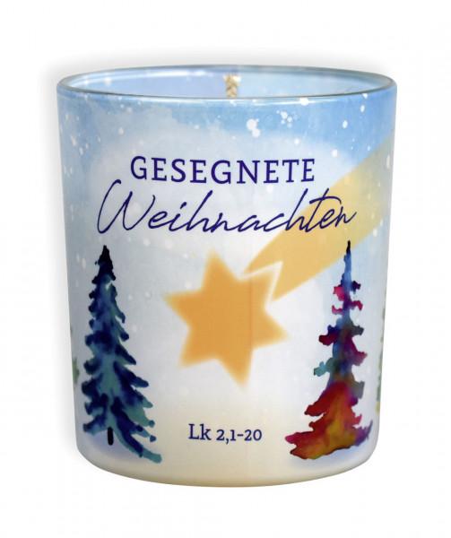 Duftkerze - Gesegnete Weihnachten