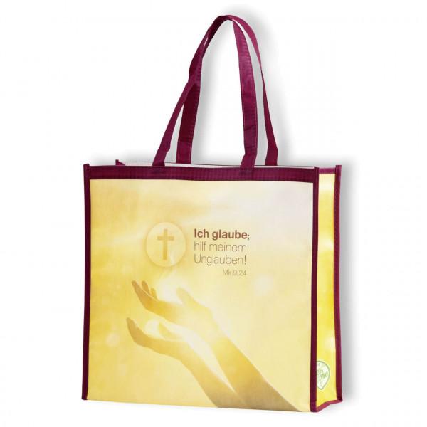 Einkaufstasche - Ich glaube; hilf meinem Unglauben