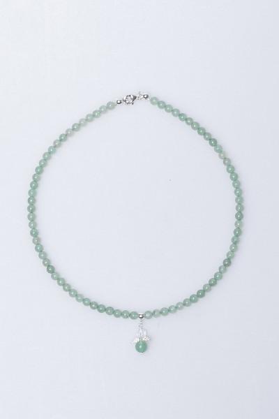 Engel-Schmuckset - Aventurin Armband & Halskette