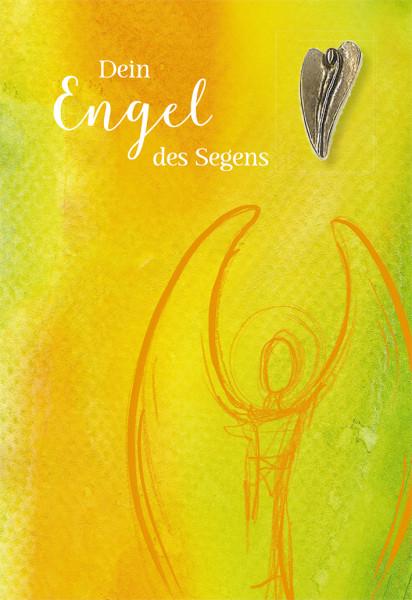 Engelkarte - Segensengel & Bronze