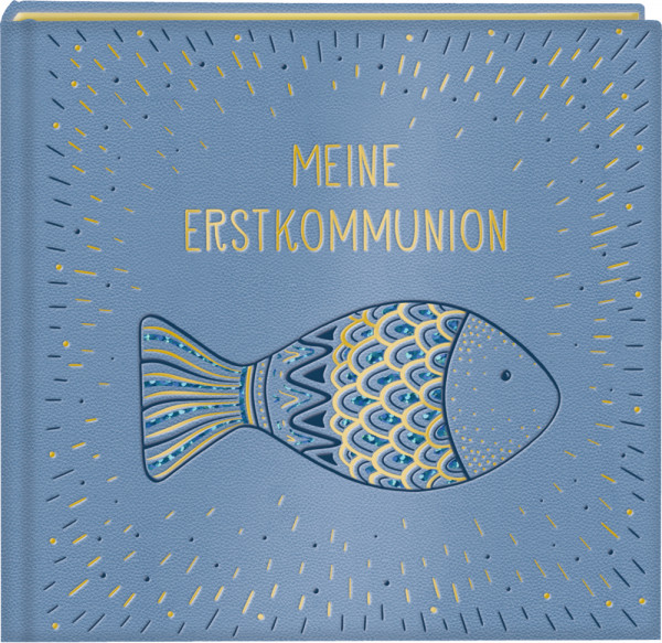Erinnerungsalbum - Meine Erstkommunion & Fisch