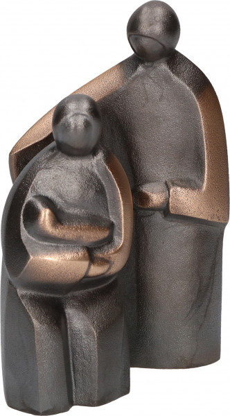 Figur - Heilige Familie & Bronze