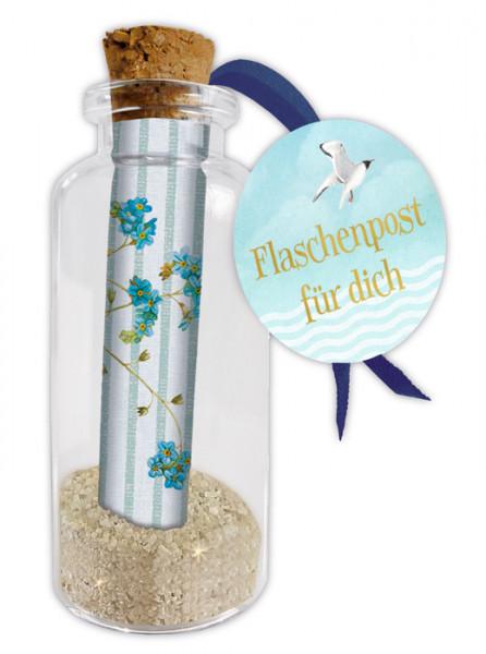 Flaschenpost - Beste Wünsche für dich!