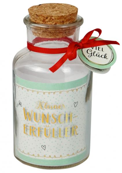 Flaschenpost - Kleiner Wunscherfüller & Viel Glück