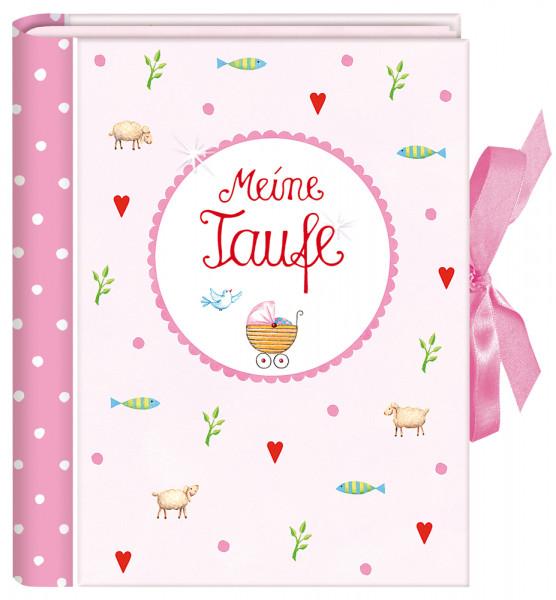 Foto-Einsteckalbum - Meine Taufe & Rosa