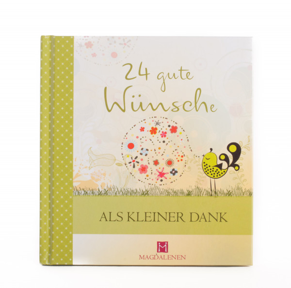 Geschenkbuch - 24 gute Wünsche als kleiner Dank
