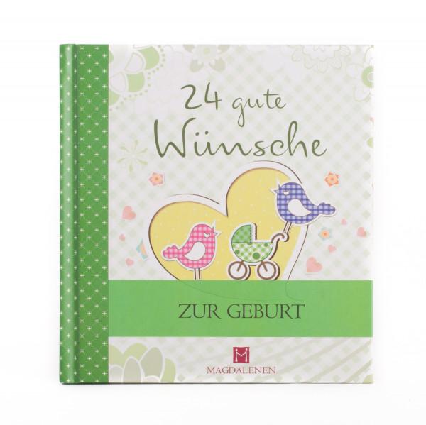 Geschenkbuch - 24 gute Wünsche zur Geburt