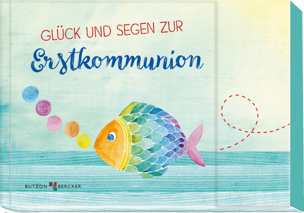 Geschenkbuch - Glück und Segen zur Erstkommunion & Gutschein