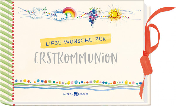 Geschenkbuch - Liebe Wünsche zur Erstkommunion