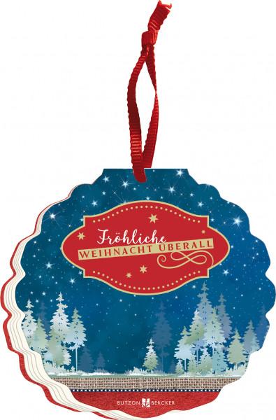 Geschenkbuch zu Weihnachten - Fröhliche Weihnacht ...
