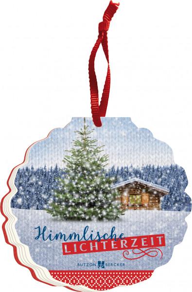 Geschenkbuch zu Weihnachten - Himmlische Lichterzeit