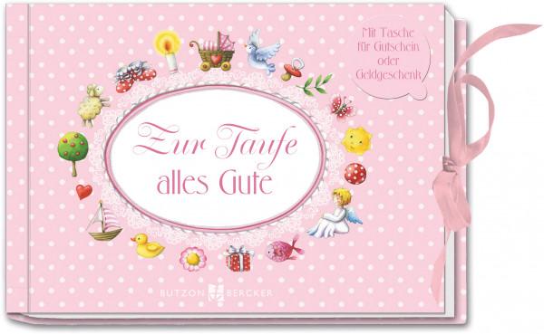 Geschenkbuch - Zur Taufe für Gutschein / Geldgeschenk